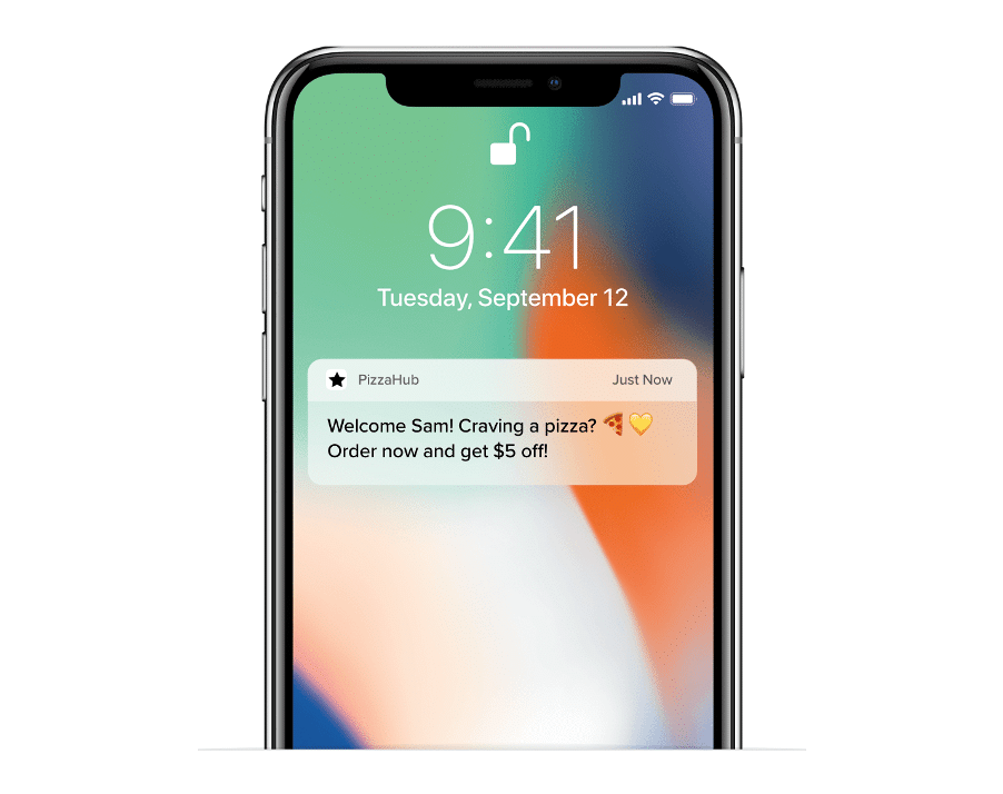 personalized push notifications