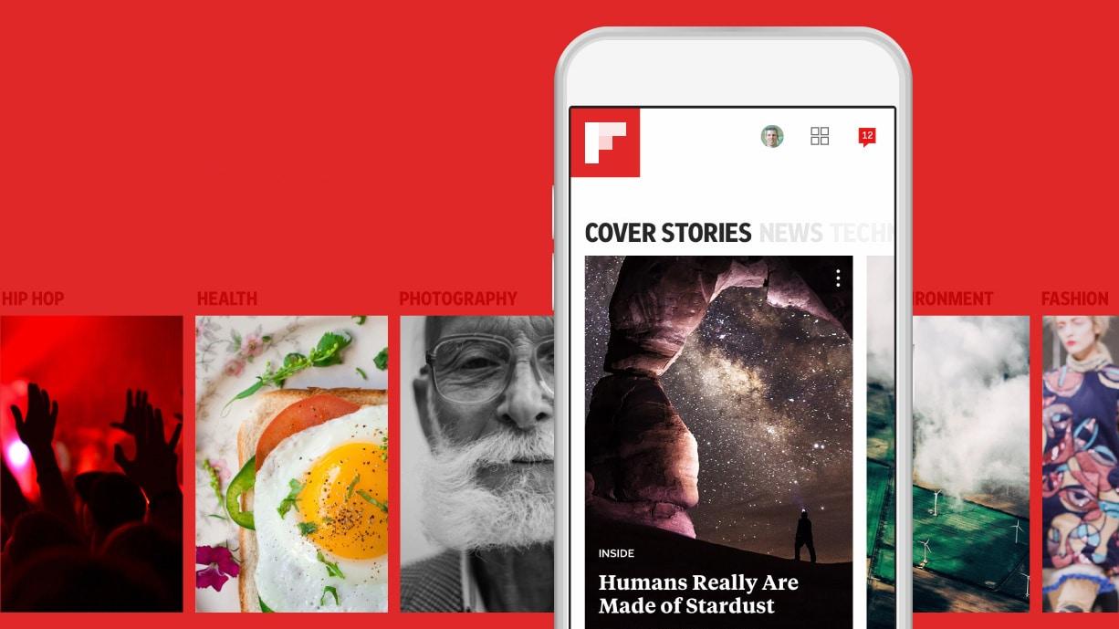 Top Apps to Read Newspaper Online - Flipboard