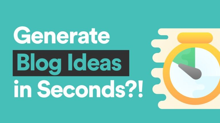 5 Proven Ways to Generate Blog Ideas
